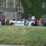 Villegas Pars the 16th at the JP McManus Golf Open in Adare