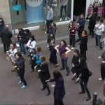 Flash Mob at Cruises Street Limerick