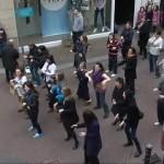 Flash Mob at Cruises Street Limerick