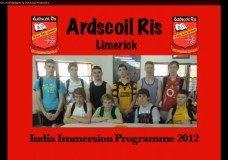 Ard Scoil Rís India Immersion 2012 Highlights