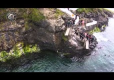 Diving Boards at Newfie, Kilkee, Co.Clare filmed by O'Donovan Productions