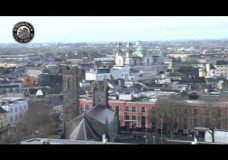 Flooding in Athlone, filmed by O'Donovan Productions from the Sheraton Hotel