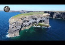 Video Drone Footage of Bishop's Island, Kilkee, Co. Clare by O'Donovan Productions