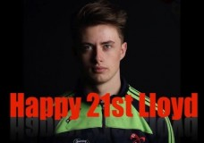 Happy 21st Birthday Lloyd O'Donovan