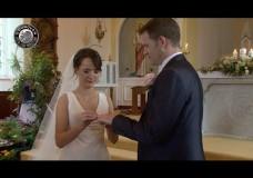 Caríona & Shane's Wedding Highlights, Glin Church & Dromhall Hotel, Killarney